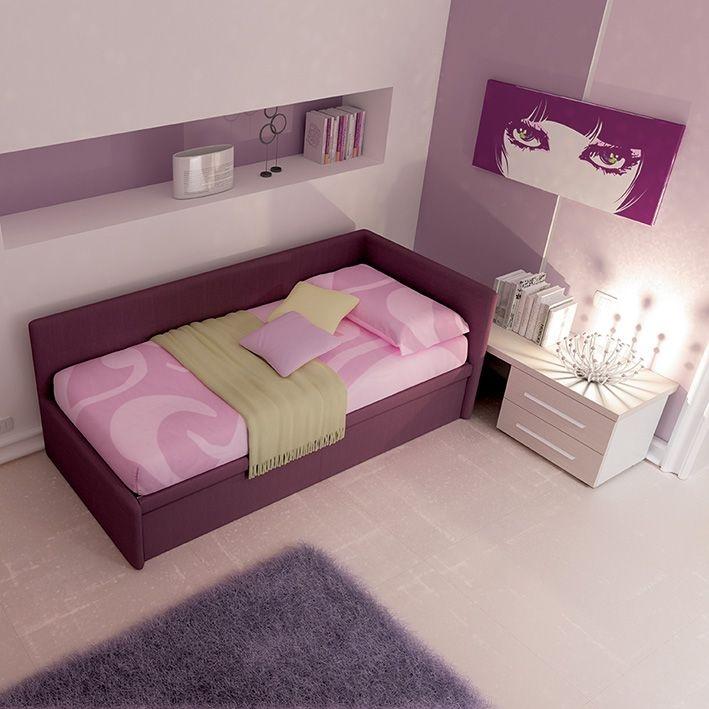 Il divano bravo una delle versioni di divani letti imbottiti con una due o tre sponde - Letto moretti compact ...