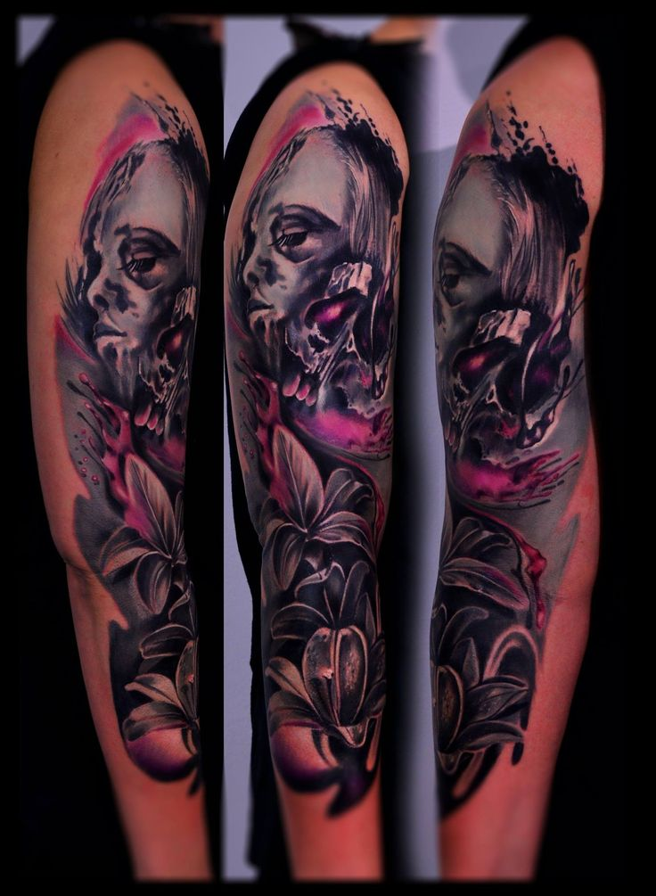 Totenschädel Tattoo 32 Best Trash Style Tattoo Images On Pinterest | Pen And