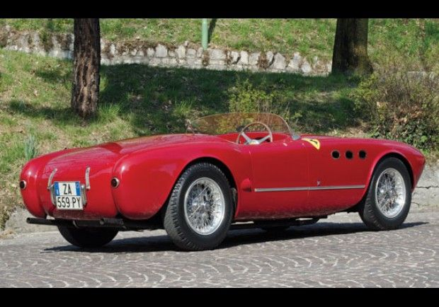 1952 Ferrari 225 Sport Spyder Turboscocca