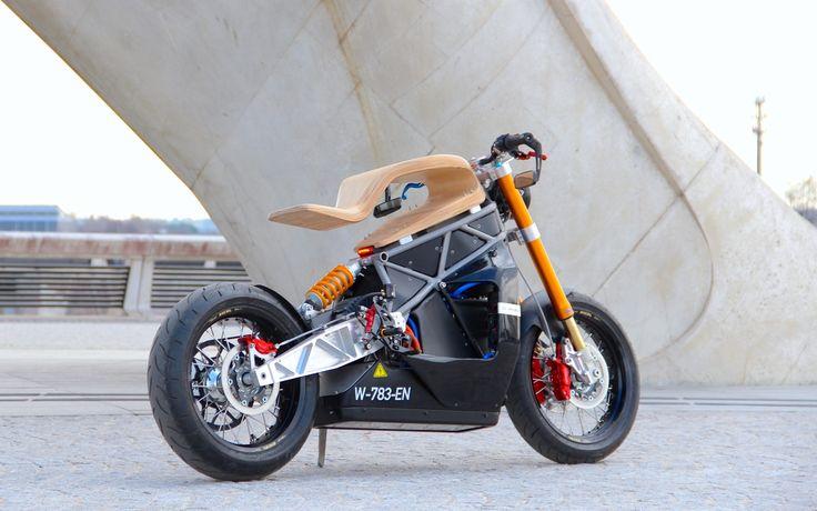 E-Raw, la moto électrique par Essence Motocycles