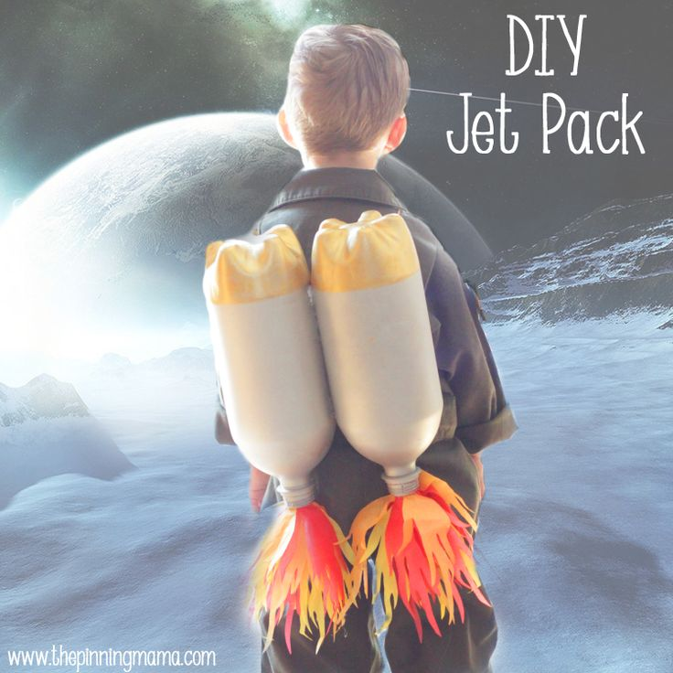 DIY Jet Pack and Space Food Bento Inspired by Pottery Barn Kids | The Pinning Mama