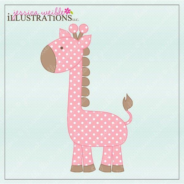 polka dot giraffe autumns pink and aqua inspiration