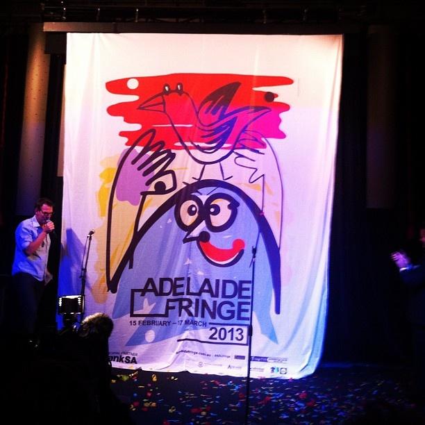 "@_edmitchell's photo: ""Fringe Poster Launch"""