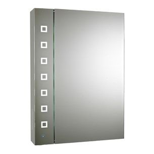 Make Photo Gallery Premier Enigma Touch Sensor LED Backlit Mirroe Cabinet x x mm Bathroom Mirror CabinetMirror CabinetsMirror SaleBathroom