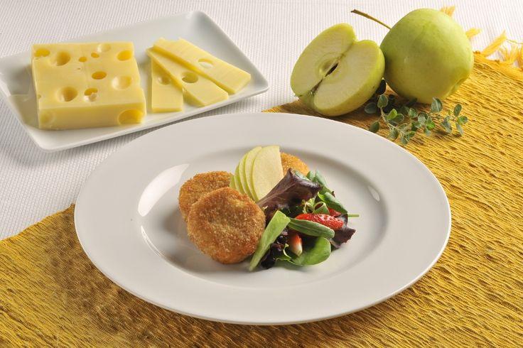 Crocchette di patate, mele e Emmental