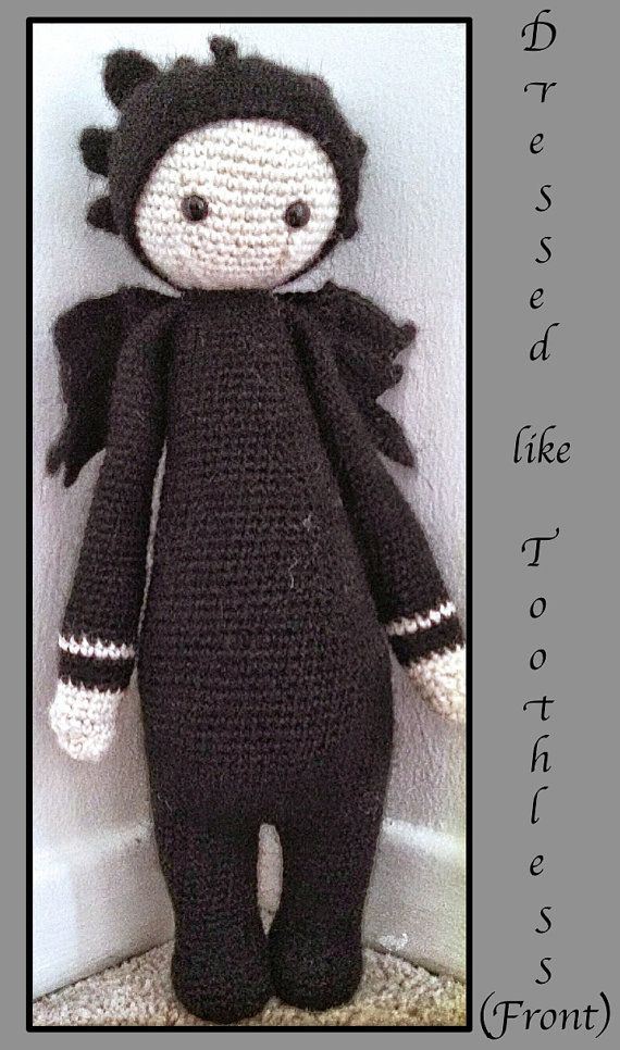63 best Crochet Toothless images on Pinterest | Desdentado de ...
