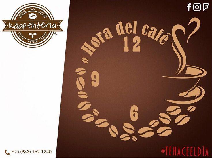 Es sábado y ha llegado la hora del café les esperamos en su Káapehtería Chetumal Obregón para pasar un rato agradable y disfrutar de un buen Americano Frappuccino Cappuccino Mokaccino o el Frappé del sabor de su preferencia!  #Káapehtería #TeHaceElDía #Káapehtear #Cafetería #Café #Alimentos #Postres #Pasteles #Panes #Cancún #Chetumal #México