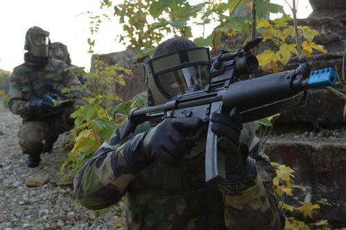 Pistolet mitrailleur - HK MP5 A5