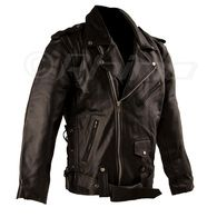 Leather Motorcycle Brando Jacket