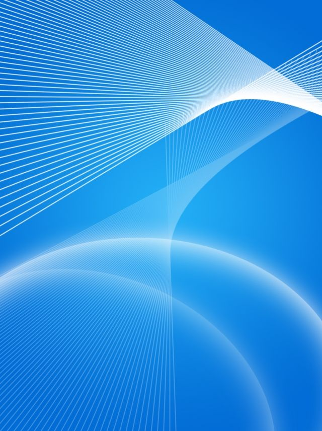 Simple and technological sense blue background