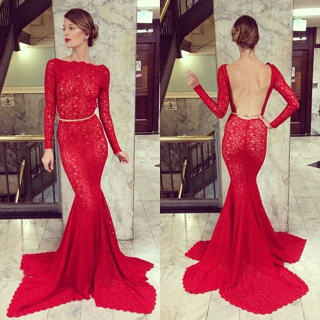 Ultimate of the Michael Costello gowns (if you watched Project Runway you should know the name).