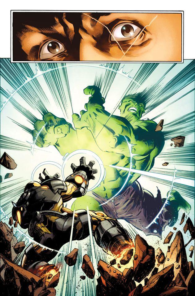 Hulk y Iron Man se enfrentarán en uno de los mejores combates de la historia (según Marvel)