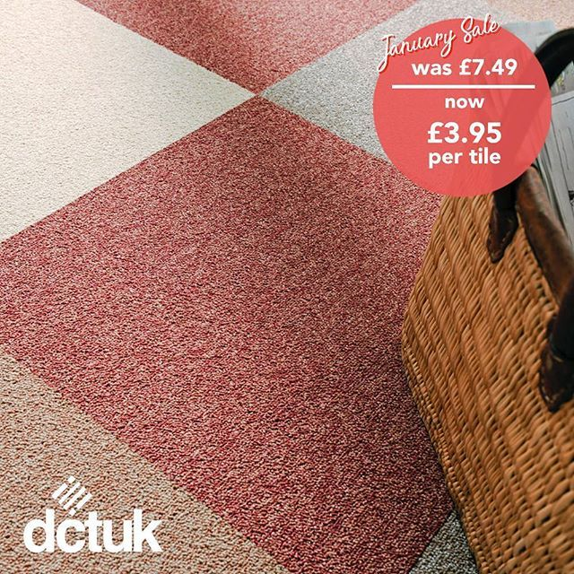 A firm favourite since the swingin sixties these hardwearing and easy to clean loop pile carpet tiles are the perfect choice for any kitchen bathroom or dining room whether youre going retro or keeping it modern. Buy online: https://loom.ly/TnF02Jw #CarpetTiles #Home #DIY #Interiors #InteriorDesign #HomeImprovement