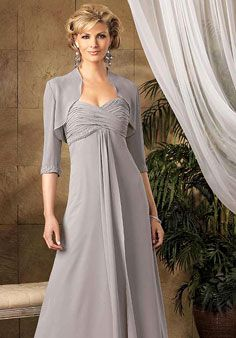 mother of the groom dresses I think my mom would look pretty in a dress like this.