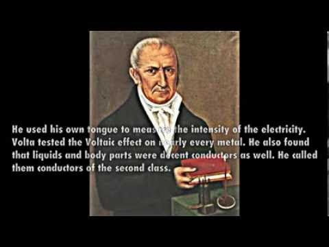 Famous Italian Alessandro Volta, was the prioneer who did studies in electricity, hence the name 'Volt' describing a unit of electricity.