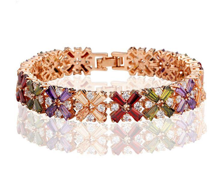 67 best Diamond and Gold Bracelets images on Pinterest