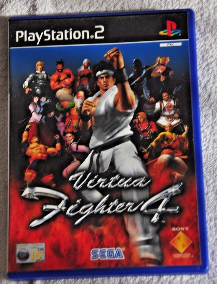 VIRTUA FIGHTER 4   Sony Playstation 2 Video Game    PS2