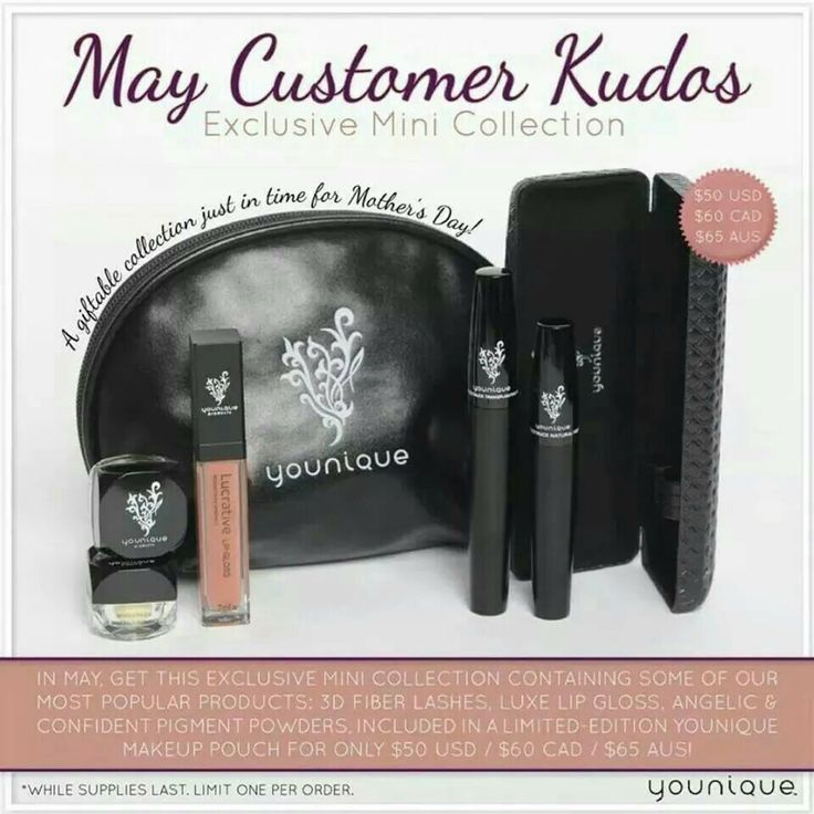 Hello Ladies! Have you heard about Younique Cosmetics??? These products are Amazing & Life Changing, Guaranteed! Please check out my website for Younique Cosmetics that are worth every penny! I would be happy to help you discover some great deals & top selling products you will love! Especially the 3D Mascara that will stop you from ever buying fake eye lashes ever again!  www.youniqueproducts.com/TraWarrenJohnson/party/203749/view