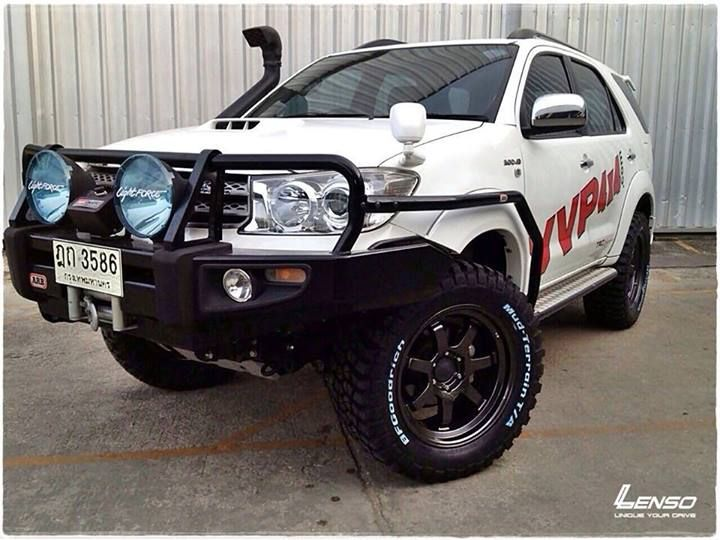 accessorized toyota fortuner