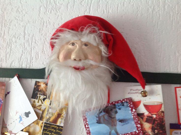 Muziekdoosje en kerstkaart houder. Made by Gerda.