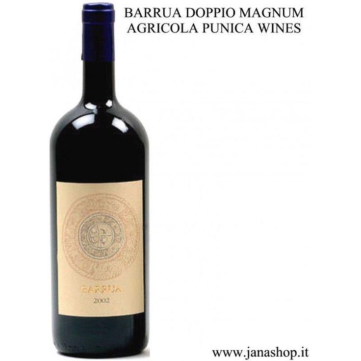 Vino Rosso Isola dei Nuraghi IGT, BARRUA DOPPIO MAGNUM, 300 cl, 14.5° Alc., Sard