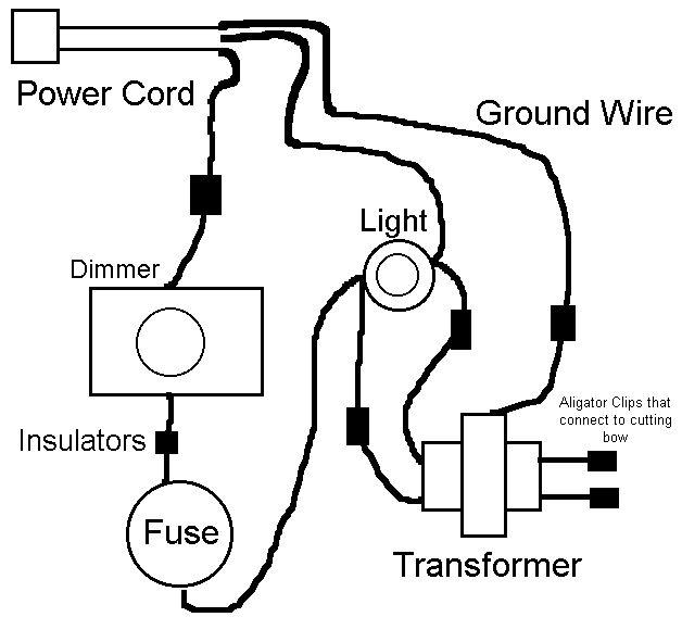 hot wire foam cutter circuit diagram