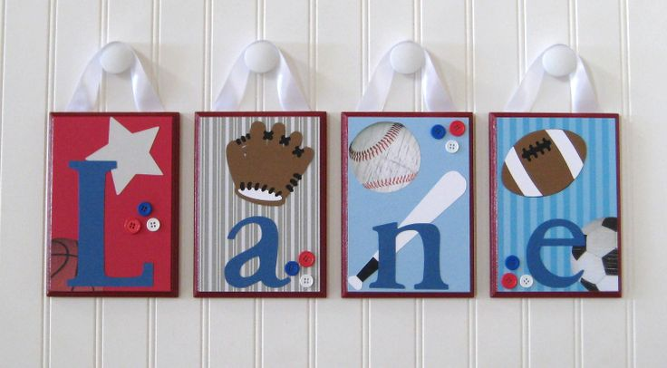 baby name letters | Name Blocks . Nursery Name Letters . Baby Name Blocks . Hanging Wood ...