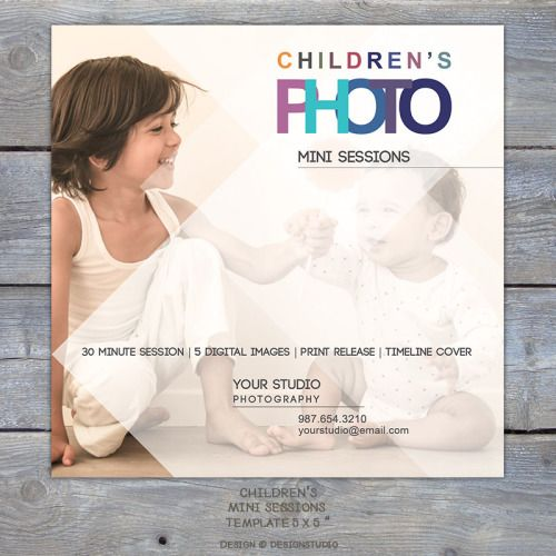 Image result for childrens mini session templates