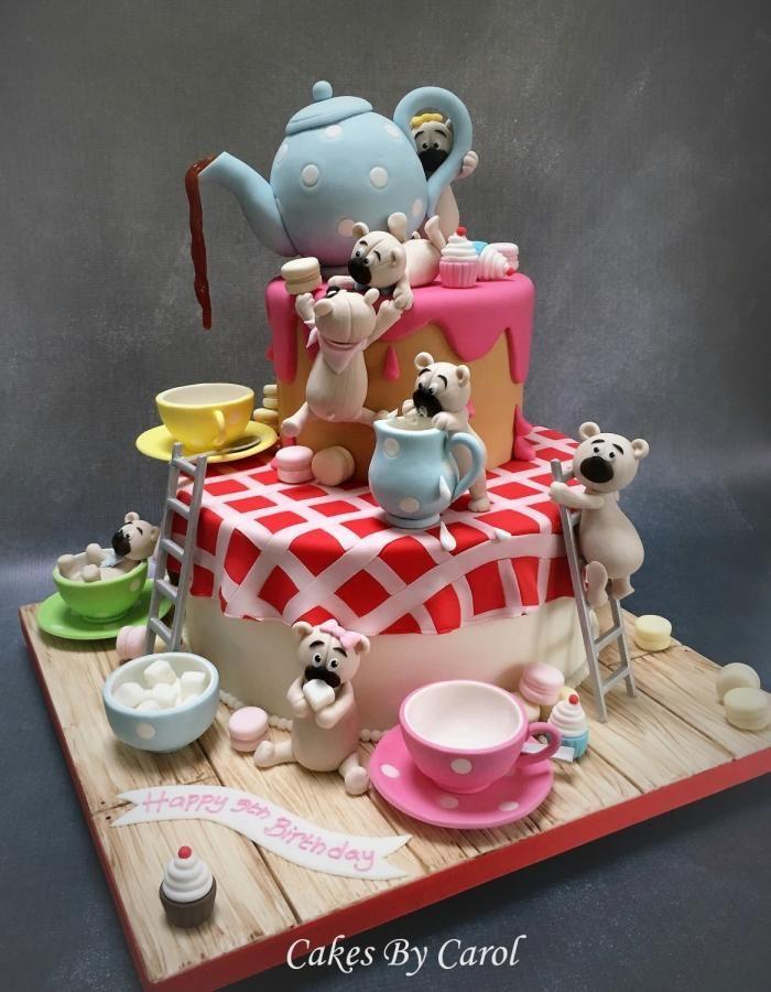 Teapot & Teddies Silver Award by Carol