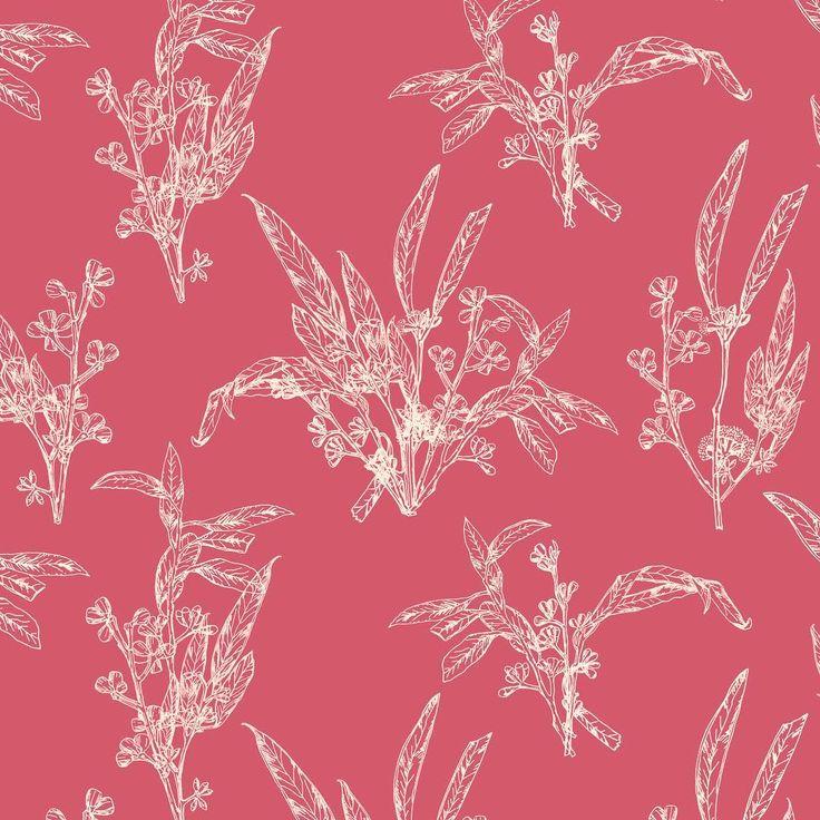 pattern design, botanical pattern, lace, wrapping paper, Eva Lechner