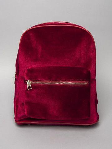 Red Velvet Backpack