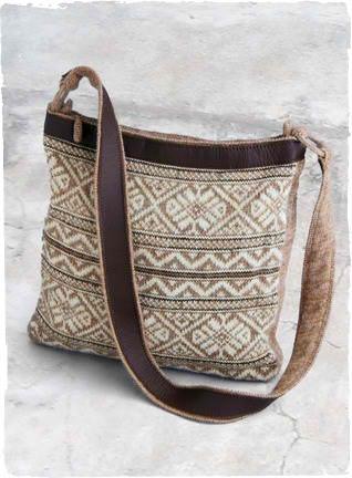 Fair isle bag. Want this so bad!