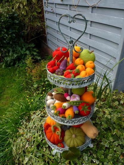 Legumes en laine cardee o merveille journee des metiers d art oise