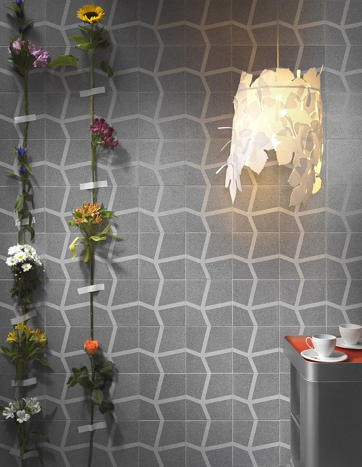Brilliant patterned terrazzo wall. Range coming to Signorino Tile Gallery in early 2014.