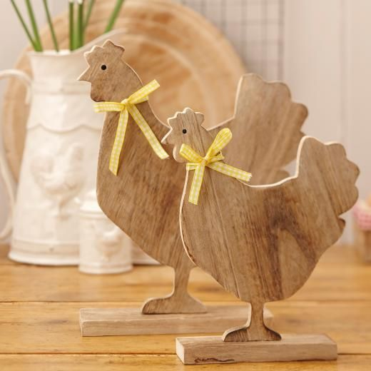 211 best easter images on pinterest rabbits backen and blessings set of two wooden hen standing decorations a great range of spring easter gifts and homewares from the contemporary home online shop negle Choice Image