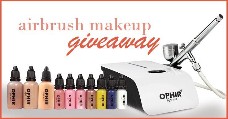 Win a Free Makeup Airbrush Kit