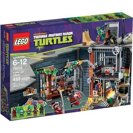 LEGO Ninja Turtles Turtle Lair Attack Play Set
