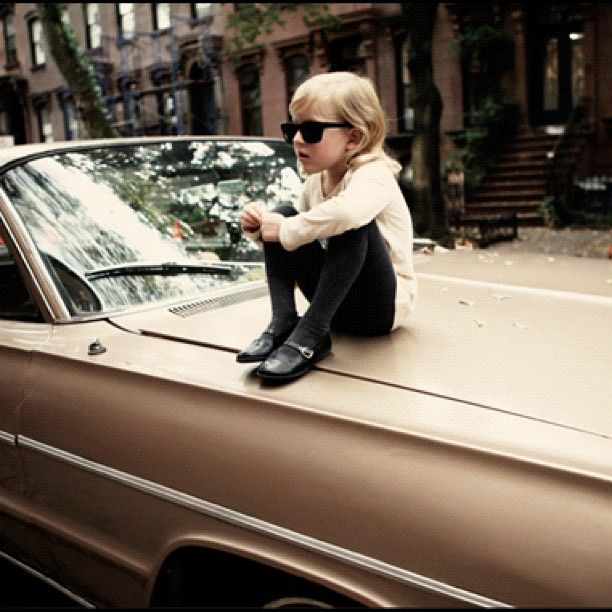 I'm too cool for family photo...: Hipster, Little Girls, Cool Kids, Schools, Kids Photography, Children, Future Kids, Old Cars, Photography Kids
