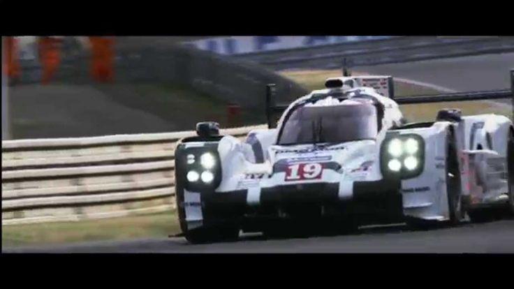 Porsche at Le Mans 2015.