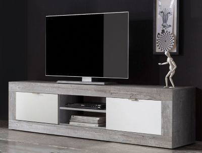 Tv Bank Schwarz. Good Tvsideboard Industrial Stil Cm Eiche Sonoma ...