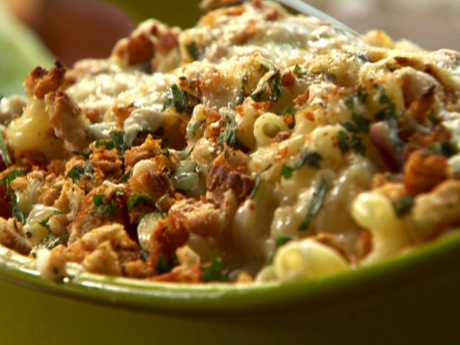 Rachael Ray's Reuben Mac n Cheese. This is one of my favorites that everyone must try!