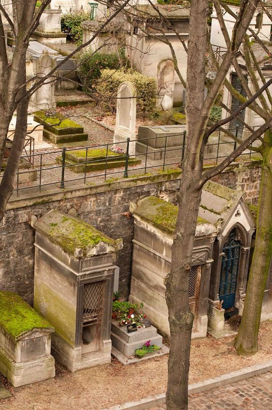 Pere lachaise paris, you won't be disappointed and you can visit Jim Morrison...