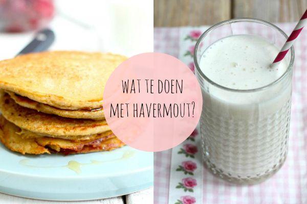 Als je denkt dat je alleen havermout met wat melk als ontbijt kunt eten, heb je het mis. Met havermout kun je zoveel lekkere en gezonde recepten maken. Kijk snel verder voor een aantal lekkere recepten