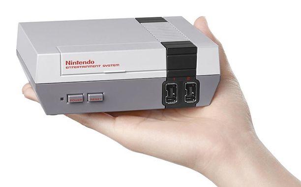 Nintendo classic NES system to get re-release | EW.com