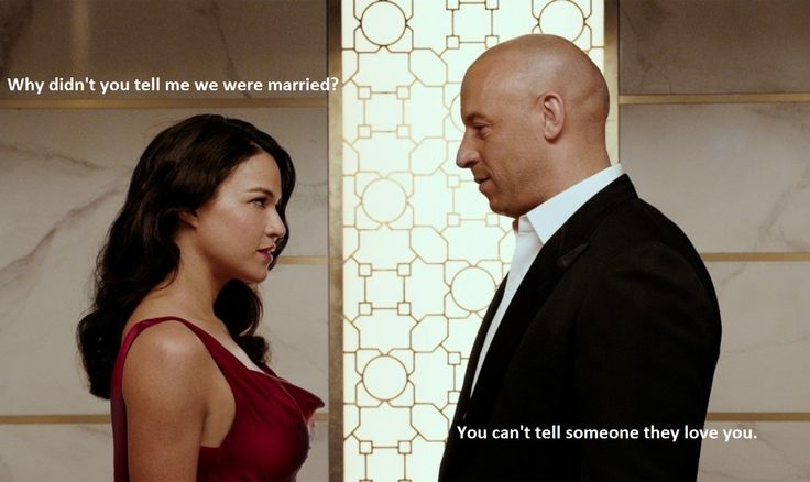 Letty had/has amnesia still from the prior movie, this reveal was soo good when her memory of a marriage they had in secret came back to her :*)