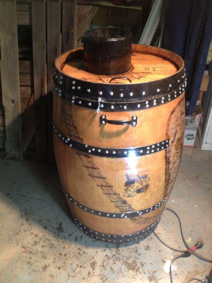 Wine Barrel Smoker By Wine Design Llc Barrel Smoker