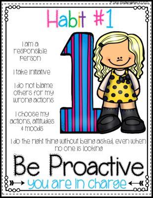 Seven Habits Posters
