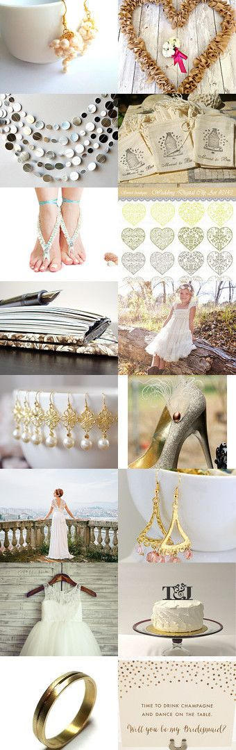 Spring wedding by Csilla Molnar on Etsy--Pinned with TreasuryPin.com