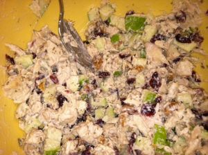 Zoe's cole slaw and chicken salad recipes