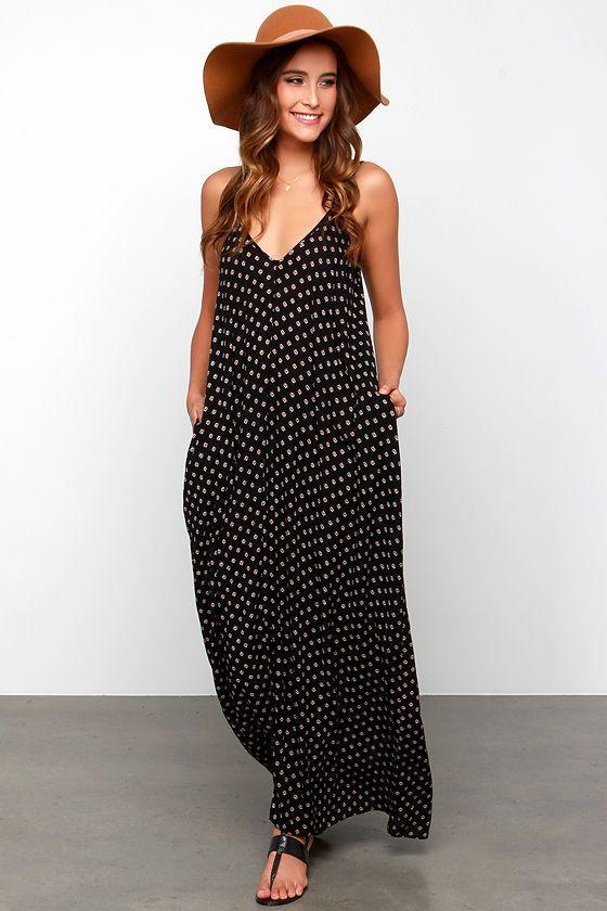 Yours Tule Black Floral Print Maxi Dress at Lulus.com! (scheduled via http://www.tailwindapp.com?utm_source=pinterest&utm_medium=twpin&utm_content=post19992464&utm_campaign=scheduler_attribution)